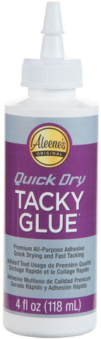 Aleene's Quick Dry Tacky Glue 4Oz
