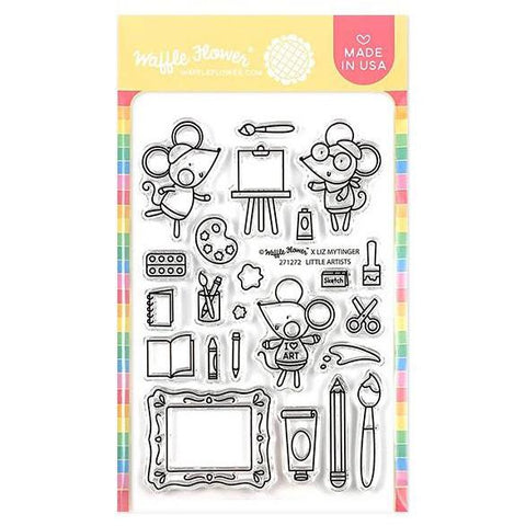 Waffle Flower Crafts Clear Stamps 4 inchX6 inch - Little Artists
