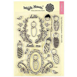 Waffle Flower Crafts Clear Stamp 5in x 7in - Little One Baby
