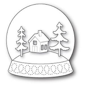 Memory Box Open Studio Die - Snowglobe Kit