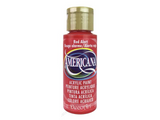 Americana Acrylic Paint 2oz - Red Alert - Opaque
