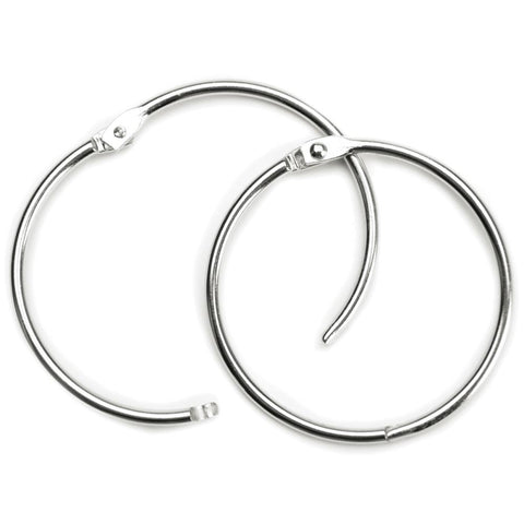 Book Ring - 3 inch 1/Pk - Silver