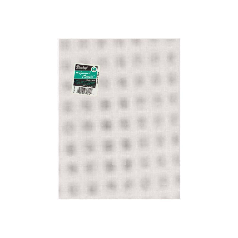 Darice - Perforated Plastic Canvas - 14 Count 8.5x11 inch