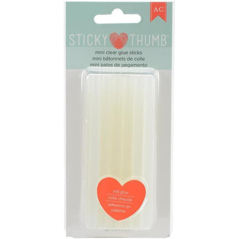 American Crafts - Sticky Thumb Mini Hot Glue Sticks