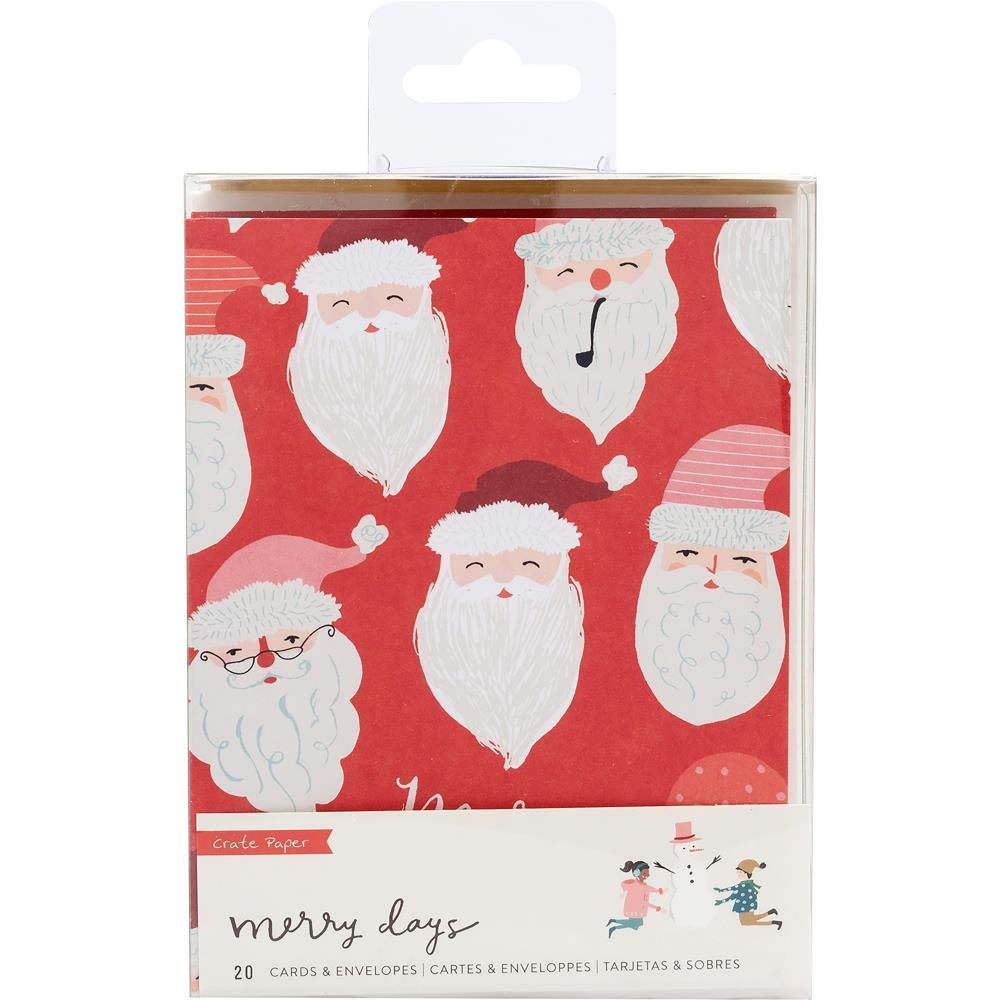 Crate Paper - Merry Days Card Set