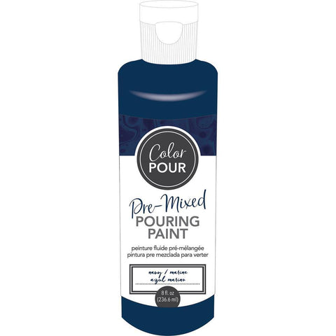 American Crafts - Colour Pour Pre-Mixed Paint 8oz - Navy