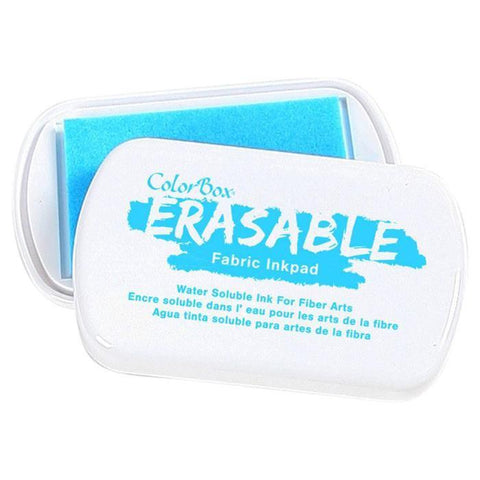 Color Box Erasable Fabric Inkpad - Blue