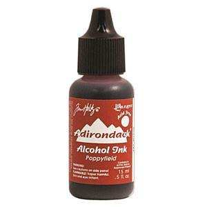 Tim Holtz/Ranger - Adirondack Lights Alcohol Ink .5Oz Poppyfield