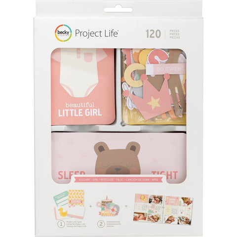 Project Life Value Kit 120 pack - Lullaby Girl