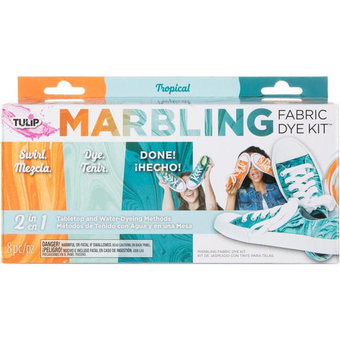 Tulip Marbling Fabric Dye Kit - Tropical