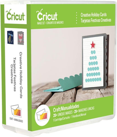 Cricut Project Shape Cartridge Creative Holiday Cards