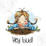 Stamping Bella Cling Rubber Stamp 2.25In. X3in. Hey Bud
