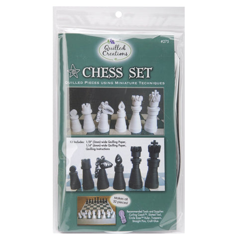 Quilled Creations - Chess Set Miniatures Quilling Kit