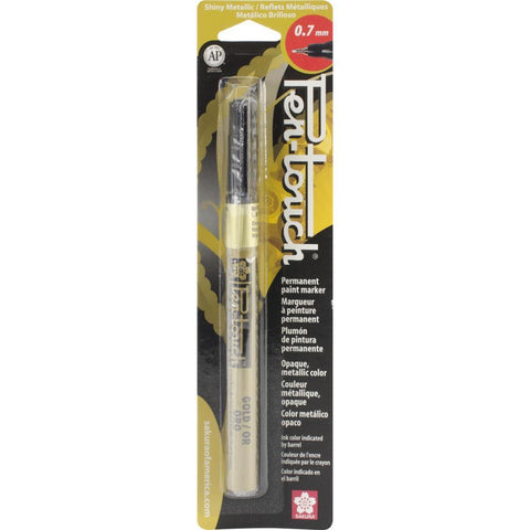 Pen-Touch Paint Marker - Extra Fine Point .7mm - Gold Metallic