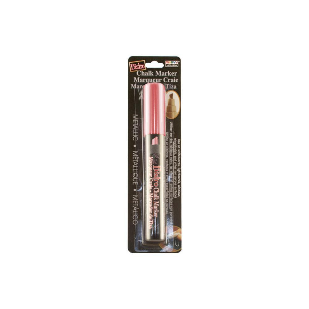 Bistro Chalk Marker Chisel Tip Metallic Red