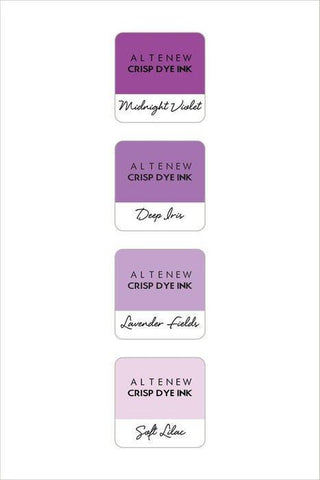 Altenew Mini Cube Ink Pad Set - Shades Of Purple