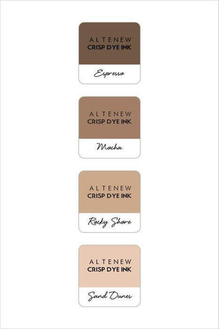 Altenew Mini Cube Ink Pad Set - Coffee Break