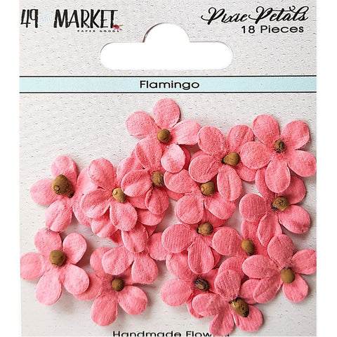 49 And Market Pixie Petals 18 pack - Flamingo