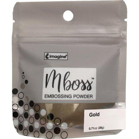 Imagine Mboss Embossing Powder - Gold - 0.71oz, 20g