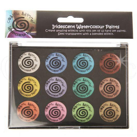 Creative Expressions - Iridescent Watercolour Palette - Set 8 Perfect Pastels