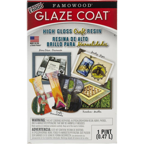 Famowood Glaze Coat Craft Kit - Clear Pint