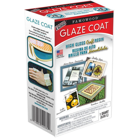 Famowood Glaze Coat Craft Kit - Clear Quart