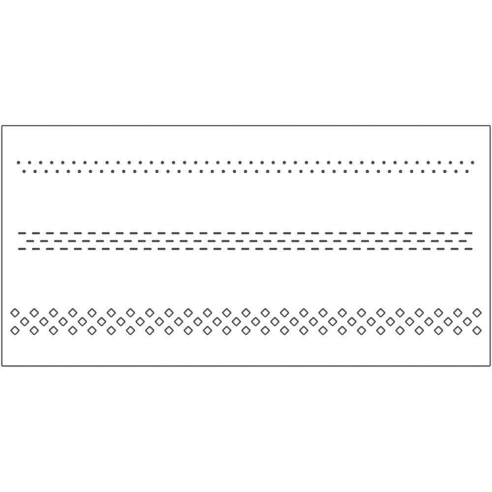 Penny Black Creative Dies - Cut Out Borders 2.1 inch x 4.8 inch