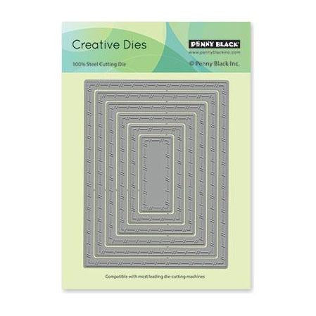 Penny Black - Creative Dies Stitched Nested Frames 4 inch X5.25 inch