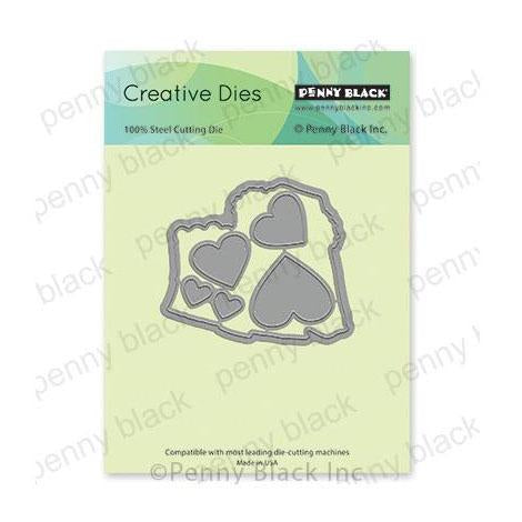Penny Black Creative Dies - Bear-Y Much Cut Out 3in x 2.6in