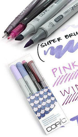 Copic - Ciao Doodle Pack - 4 Pen Set - Purple