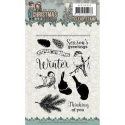 Find It Trading Amy Design Clear Stamps - Birds