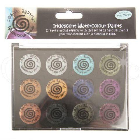 Creative Expressions - Iridescent Watercolour Palette - Set 10 Decadent and