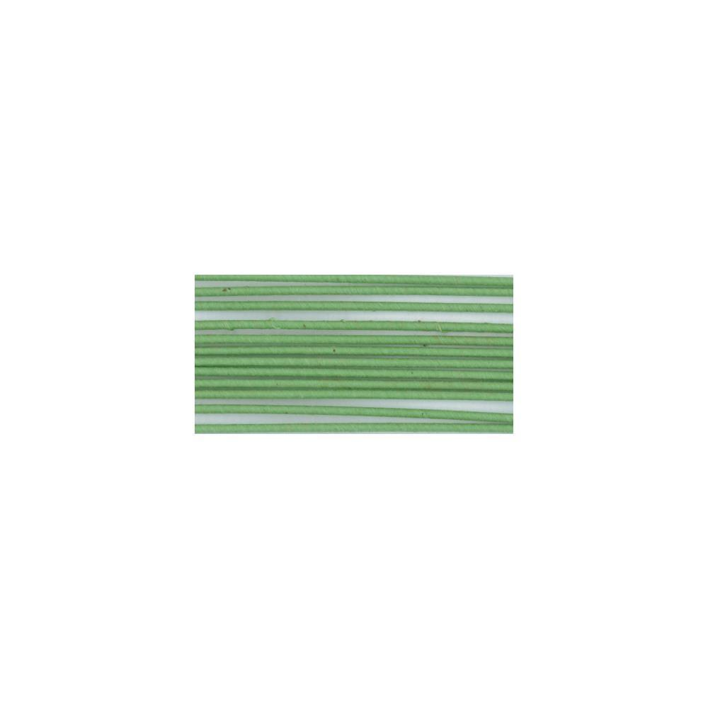 Cloth Covered Stem Wire 16 Gauge 18 inch 8 pack Green