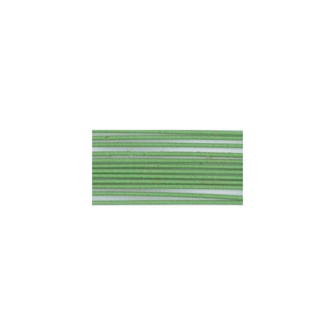 Cloth Covered Stem Wire - 22 Gauge 18 inch 20 pack - Green