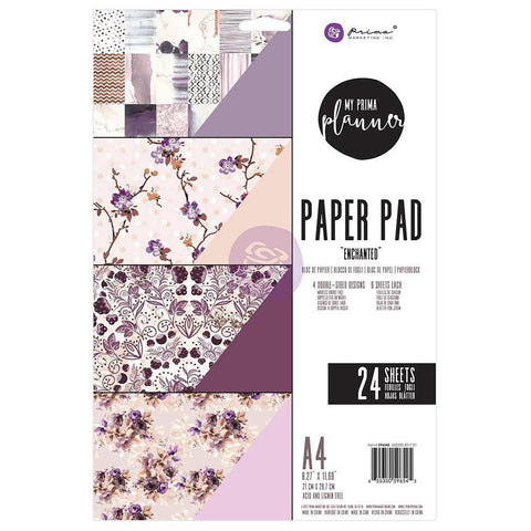 My Prima Planner D/S A4 Paper Pad 24 pack - Enchanted