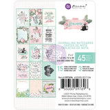 Prima Marketing - Havana Journaling Cards Pad 3x4 inch 45 pack