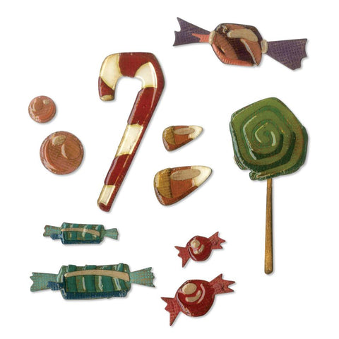Sizzix - Thinlits Dies By Tim Holtz - Sweet Treats
