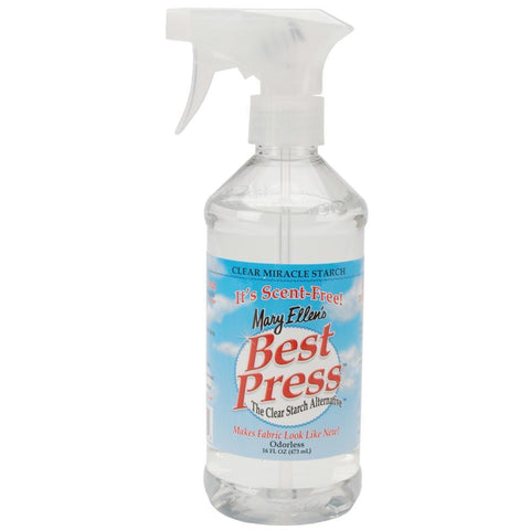 Mary Ellens Best Press Clear Starch Alternative 16.9oz Scent-Free