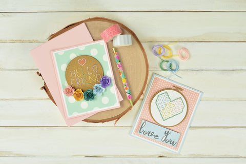 Sizzix - Thinlits Die Set 2 pack – Embroidery