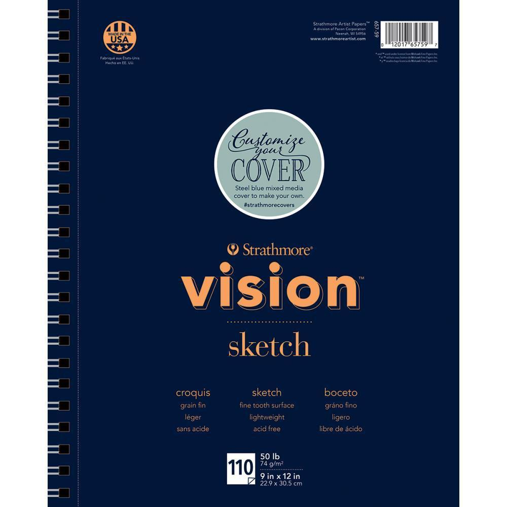 Strathmore Vision Sketch Pad 9 inch X12 inch