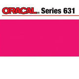 Oracal 631 Matte Adhesive Vinyl 12In. X24in.  Sheet - Pink