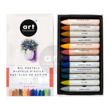 Prima Marketing - Prima Art Philosophy Water Soluble Oil Pastels 12 pack - Rustic