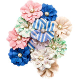 Prima Marketing - Santorine Mulberry Paper Flowers 12 pack - Oia