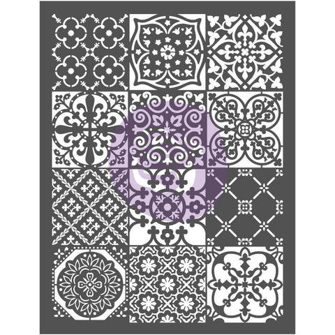 Prima Marketing - Prima Re-Design Decor Stencil 20.25x26.375 inch - Patchwork