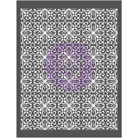 Prima Marketing - Prima Re-Design Decor Stencil 22x28 inch - French Trellis