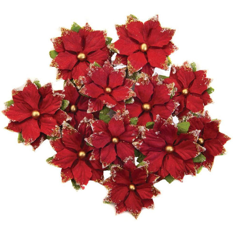 Prima Marketing - Mulberry Paper Flowers - Festive Night/Christmas In The Country