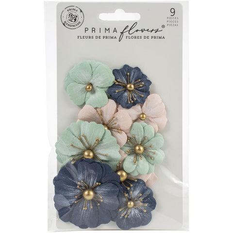 Prima Marketing Mulberry Paper Flowers - Tropea Sands