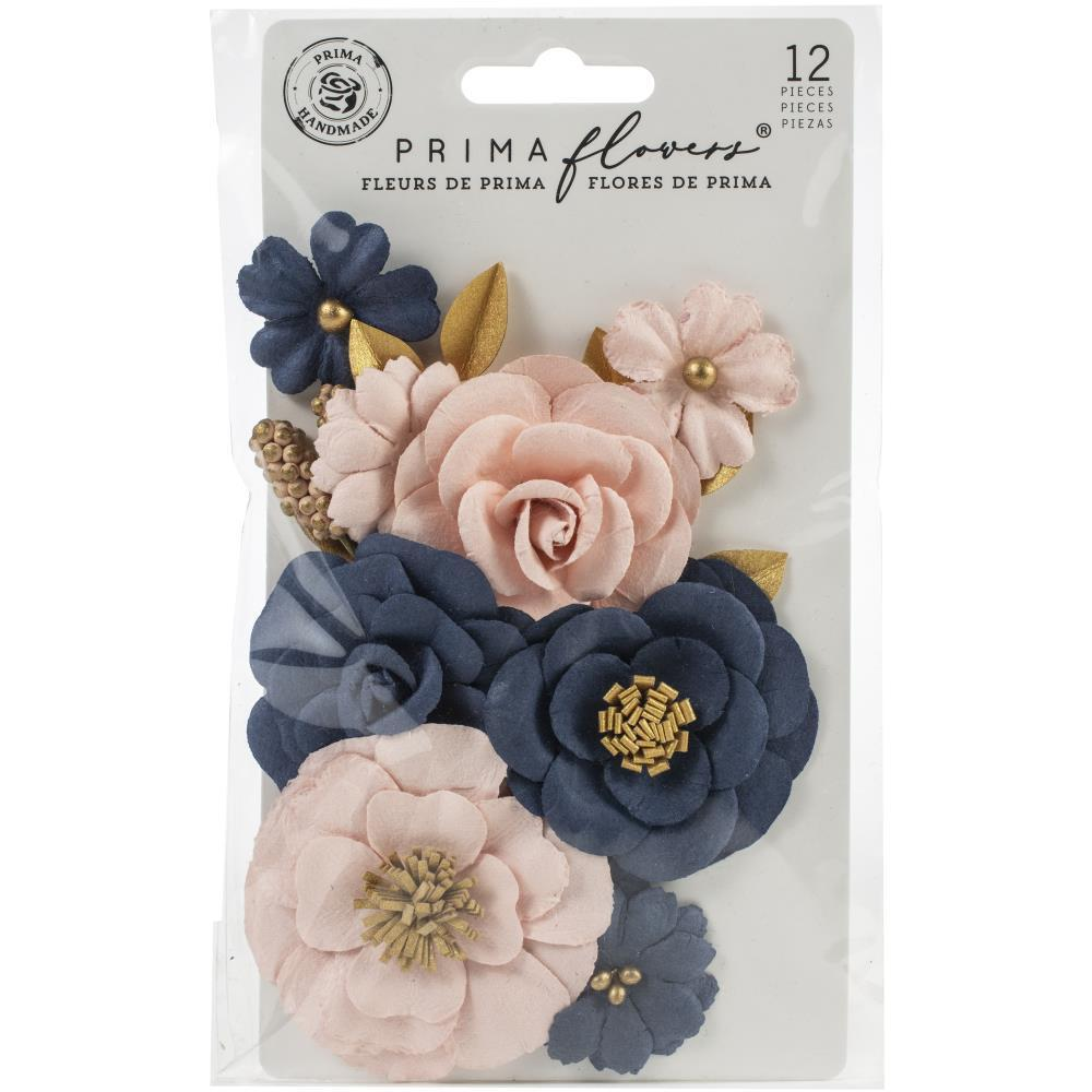 Prima Marketing Mulberry Paper Flowers - Sorrento Coast/Capri