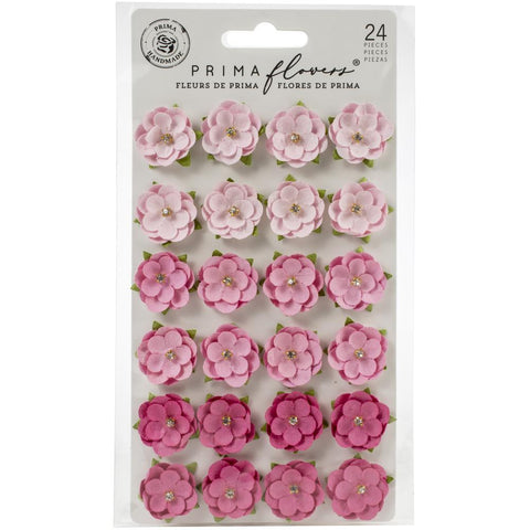 Prima Marketing Mulberry Paper Flowers - Pink Beach/Surfboard
