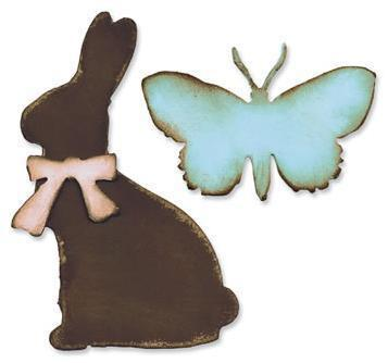 Sizzix Bigz Die - Tim Holtz - Easter Elements